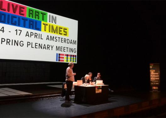 Plenary Meeting IETM Amsterdam